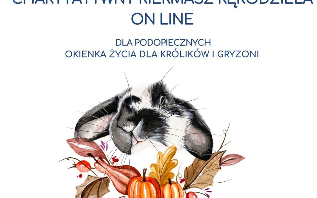 III charytatywny kiermasz rękodzieła dla bezdomnych królików i gryzoni